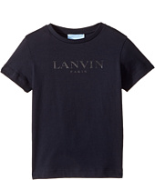 Lanvin Kids - Short Sleeve Logo T-Shirt (Toddler/Little Kids)