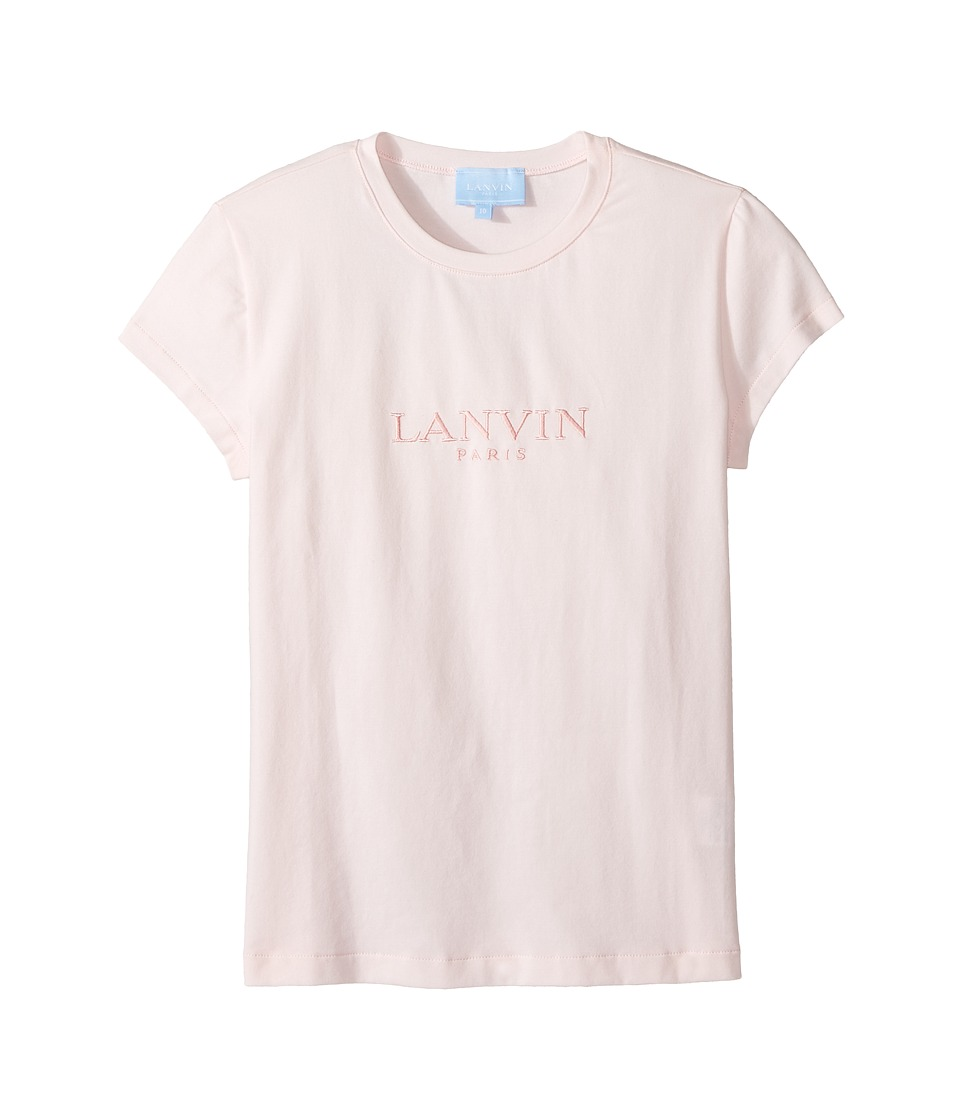 Lanvin Kids - Short Sleeve Logo T-Shirt