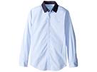 Lanvin Kids - Long Sleeve Button Down Shirt w/ Contrast Collar (Big Kids)