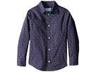 Lanvin Kids - All Over Print Long Sleeve Button Up Shirt (Little Kids/Big Kids)