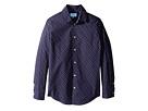 Lanvin Kids - All Over Print Long Sleeve Button Up Shirt (Big Kids)