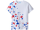 Lanvin Kids - Short Sleeve Graphic Print T-Shirt (Big Kids)