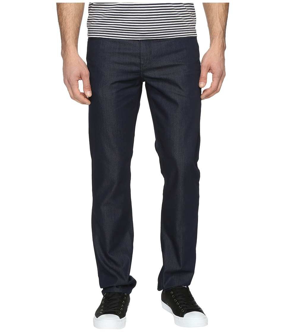 Perry Ellis - Slim Fit Dark Indigo Denim in Medium Indigo (Medium Indigo) Mens Jeans