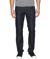 Perry Ellis - Slim Fit Dark Indigo Denim in Medium Indigo