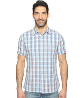 Perry Ellis - Short Sleeve Plaid Print Shirt