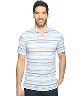Perry Ellis - Multi Horizontal Stripe Shirt