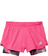 adidas Kids - Marathon Mesh Shorts (Big Kids)