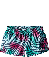 adidas Kids - Breakaway Printed Woven Shorts (Big Kids)