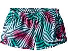 adidas Kids - Breakaway Printed Woven Shorts (Big Kids)