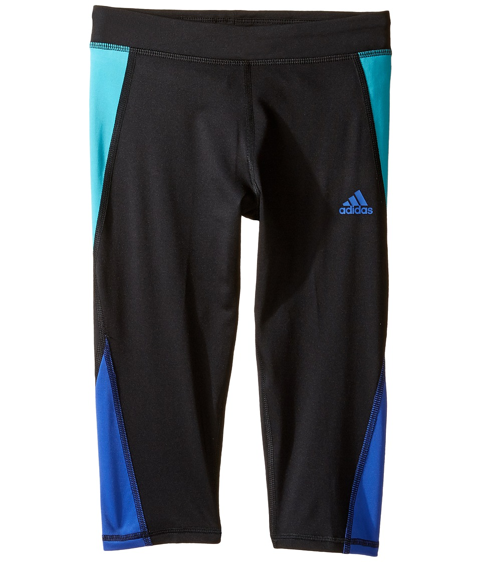 adidas Kids - Color Blocked Capri Tights