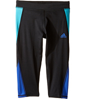 adidas Kids - Color Blocked Capri Tights (Big Kids)
