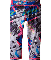 adidas Kids - Printed Capri Tights (Big Kids)