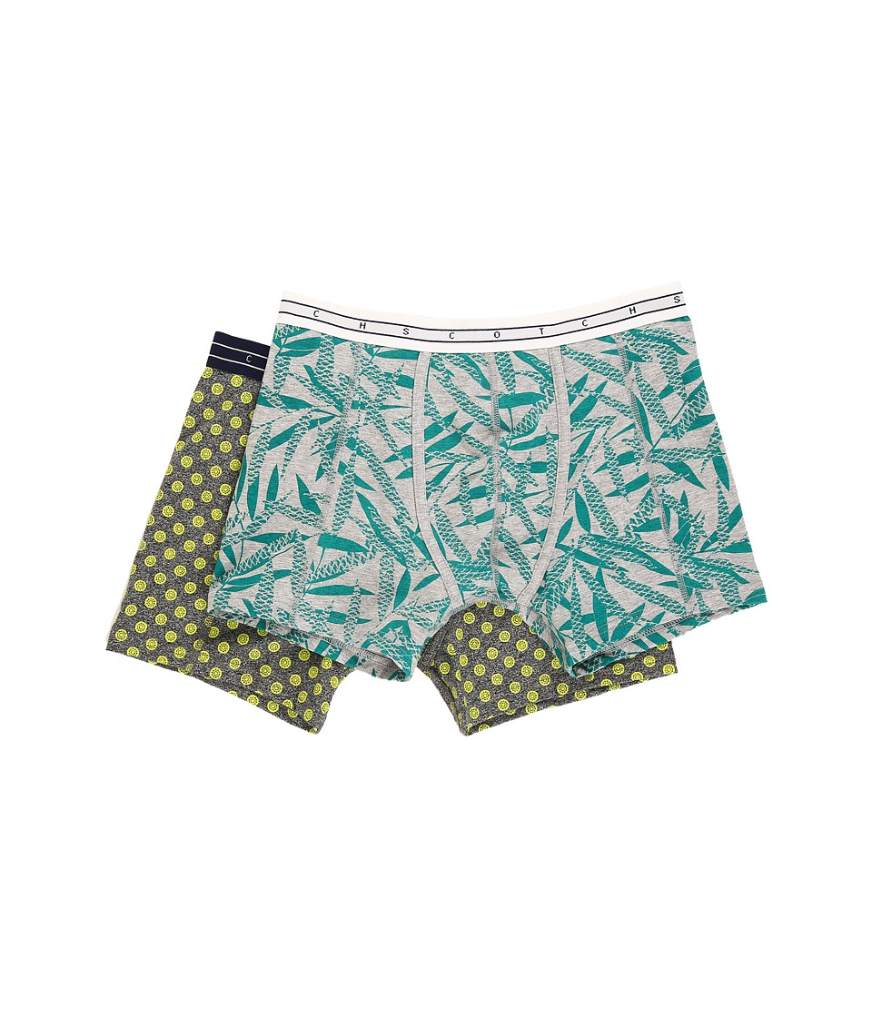 Scotch & Soda Classic Melange Boxer Shorts (Combo B) Men