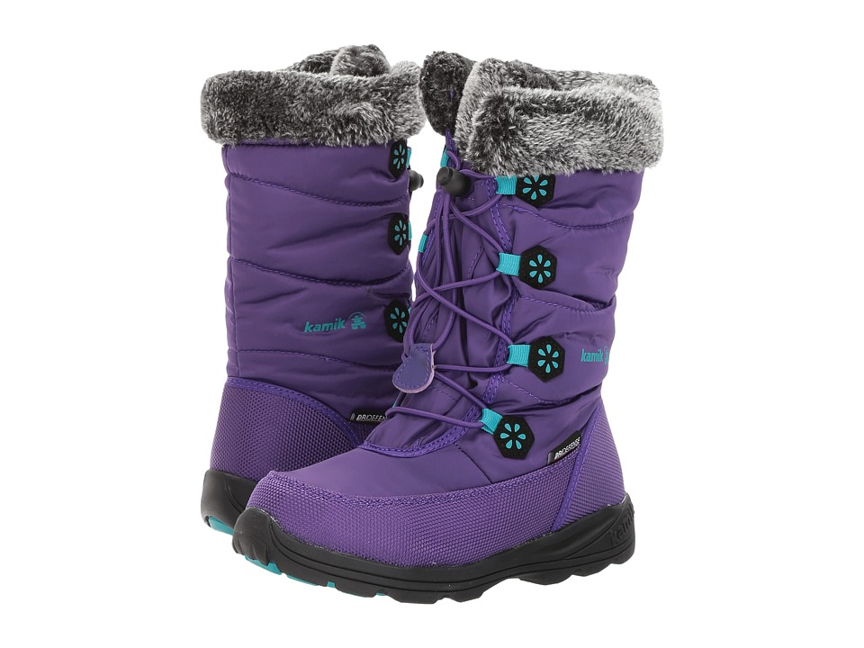 Kamik Kids Ava (Little Kid/Big Kid) (Purple/Teal) Girls Shoes
