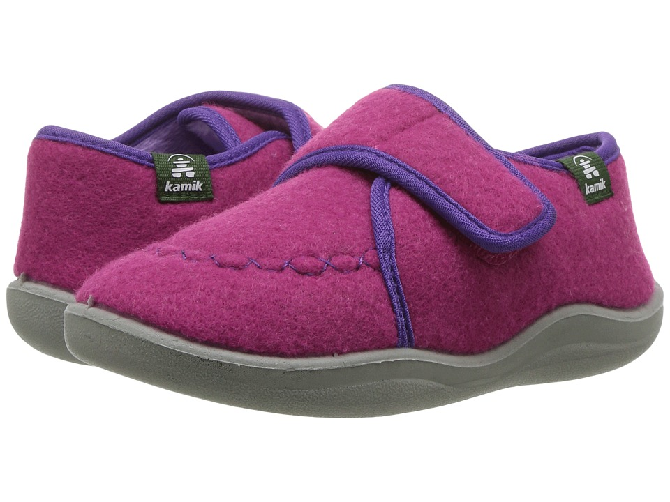 Kamik Kids Cozylodge (Toddler/Little Kid/Big Kid) (Magenta) Girls Shoes