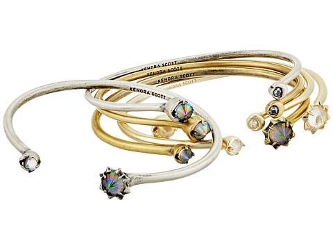Kendra Scott Kadence Bracelet - Mixed/Clear Iridescent Glass