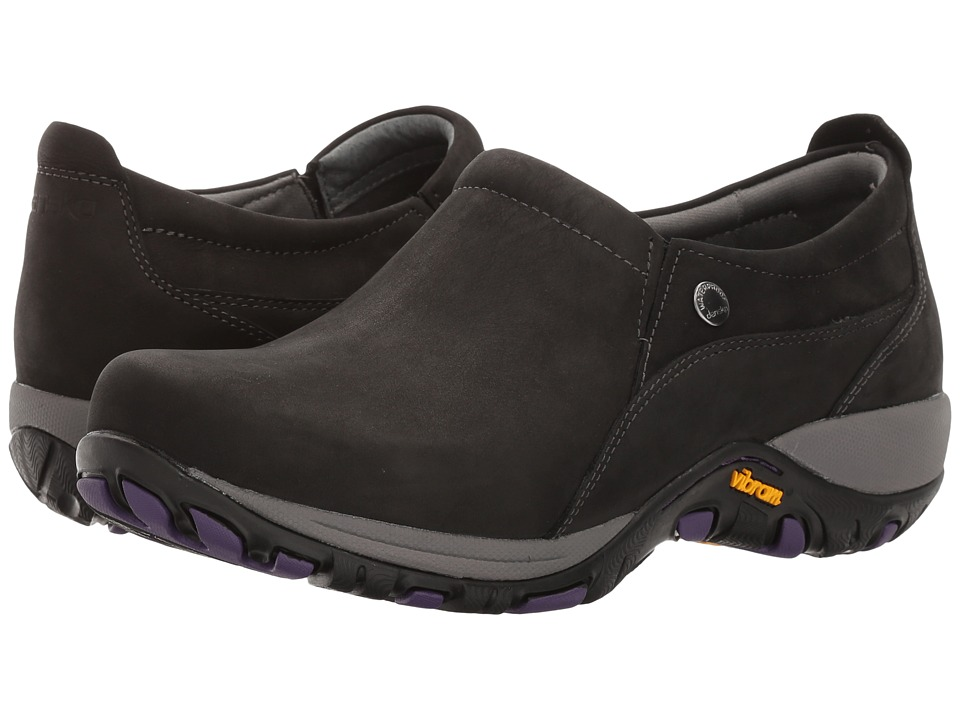 Dansko Patti (Black Milled Nubuck) Women's  Shoes