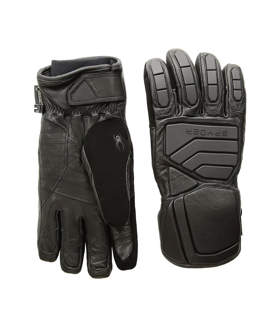 Spyder B.A. Gore-Tex(r) Ski Gloves (Black/Black) Ski Gloves