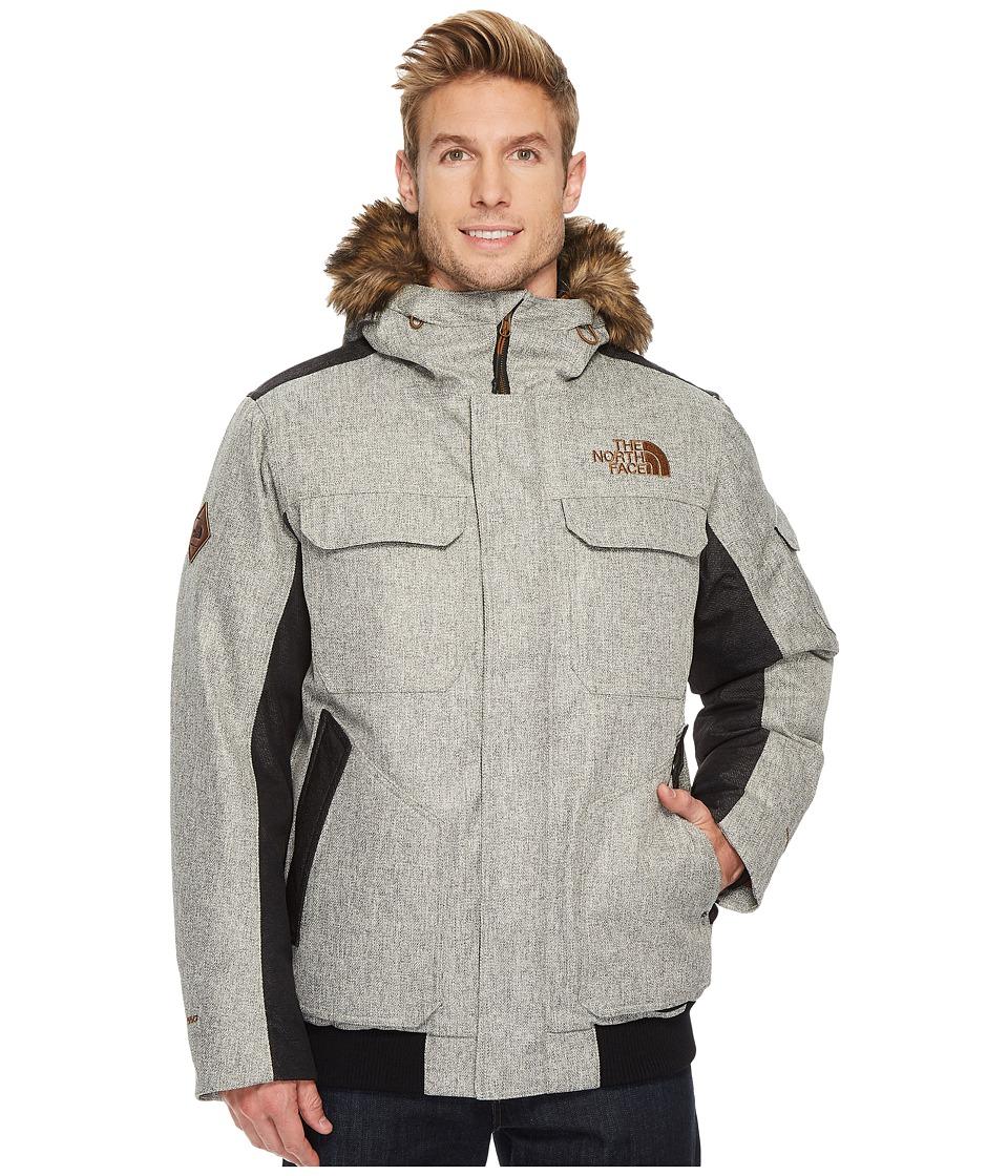 North Face Gotham Jacket III (Monument Grey Herringbone/T...
