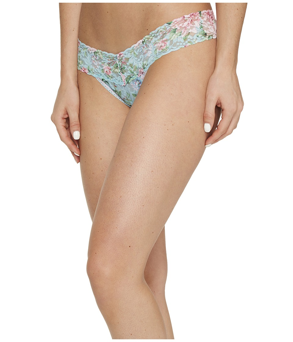 Hanky Panky Capri Bloom Low Rise Thong (Multicolor) Women