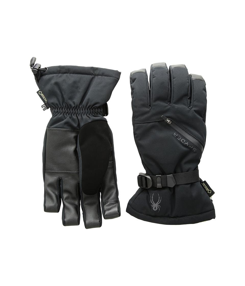 Spyder Vital Gore-Tex(r) Conduct Ski Gloves (Black/Black) Ski Gloves