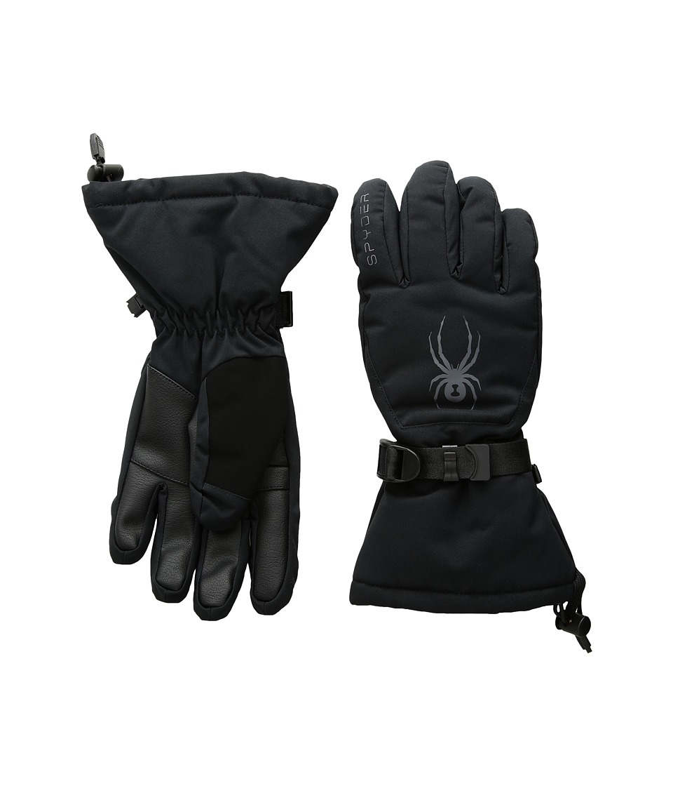 Spyder Essential Ski Gloves (Black/Black) Ski Gloves