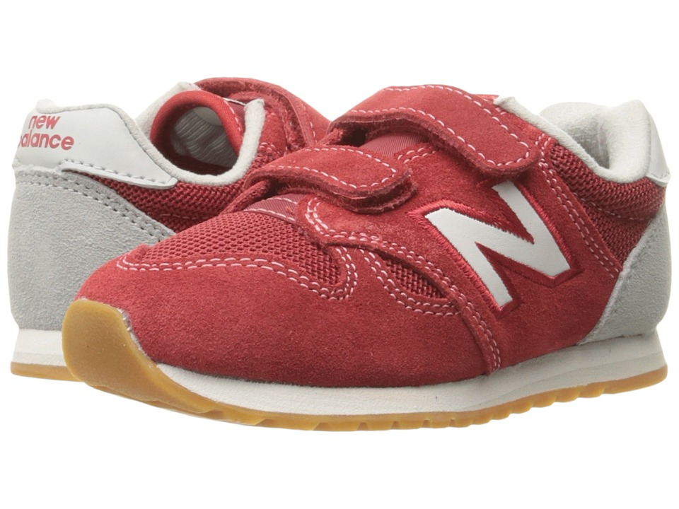 New Balance Kids KA520v1 (Infant/Toddler) (Red White) Boys Shoes
