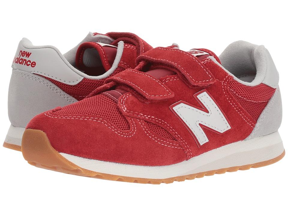 New Balance Kids KA520v1 (Little Kid/Big Kid) (Red/White) Boys Shoes