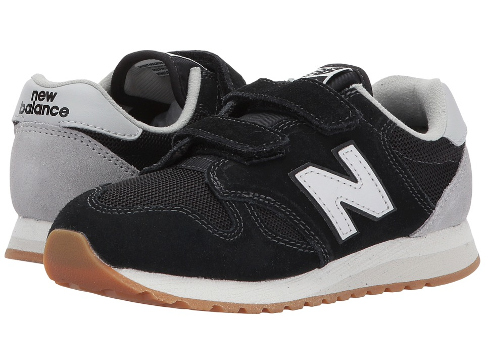 New Balance Kids KA520v1 (Little Kid/Big Kid) (Black/White) Boys Shoes