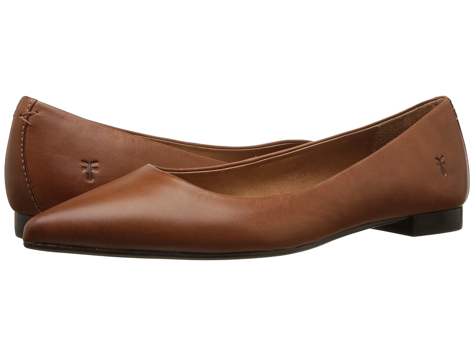 Frye Sienna Ballet (Saddle Polished Soft Full Grain) Flats