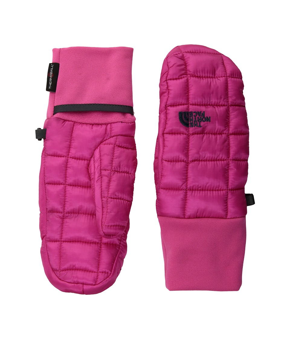 North Face Thermoball Mitt (Petticoat Pink) Over-Mits Gloves