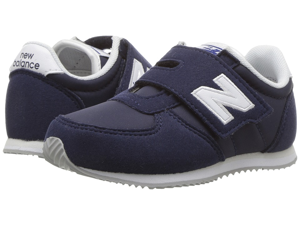 New Balance Kids KV220v1 (Infant/Toddler) (Navy/White) Boys Shoes