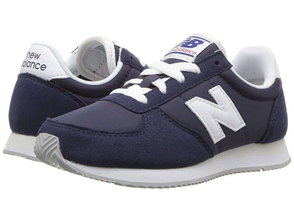 New Balance Kids KL220v1 (Little Kid/Big Kid) (Navy/White) Boys Shoes