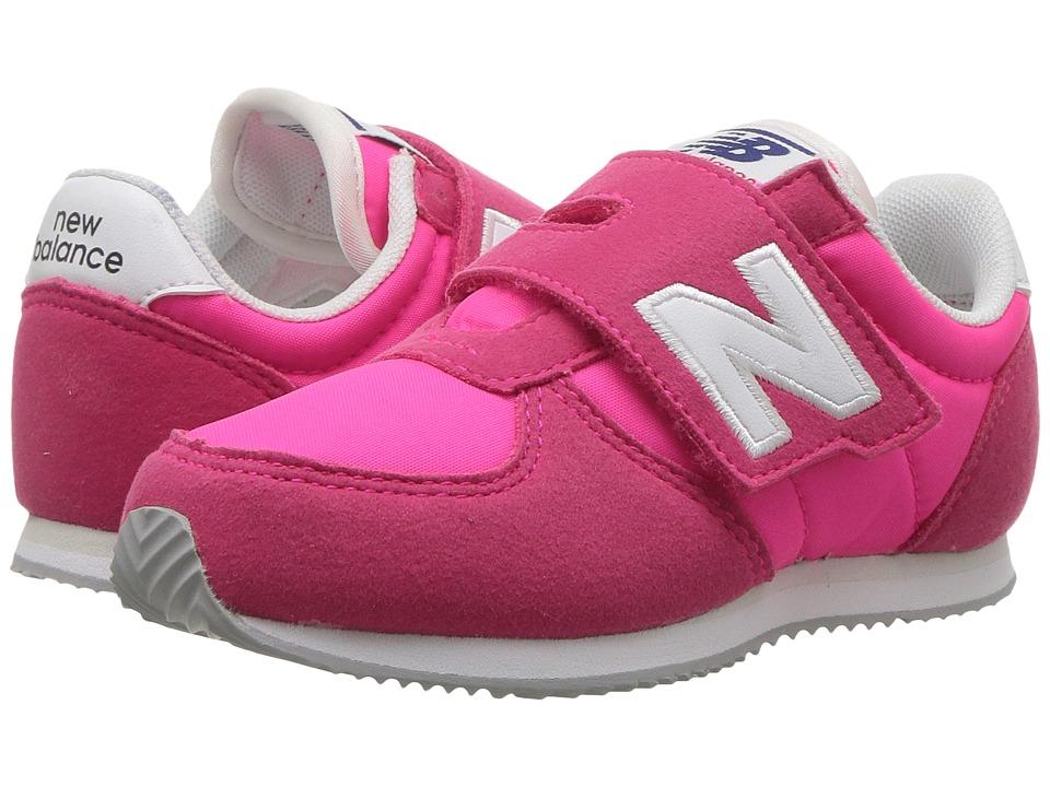 New Balance Kids KV220v1 (Infant/Toddler) (Pink/White) Girls Shoes