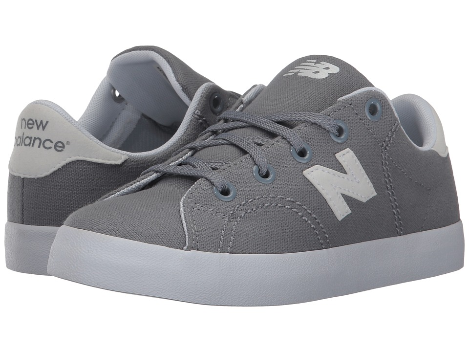 New Balance Kids Pro Court (Little Kid/Big Kid) (Grey/White) Boys Shoes