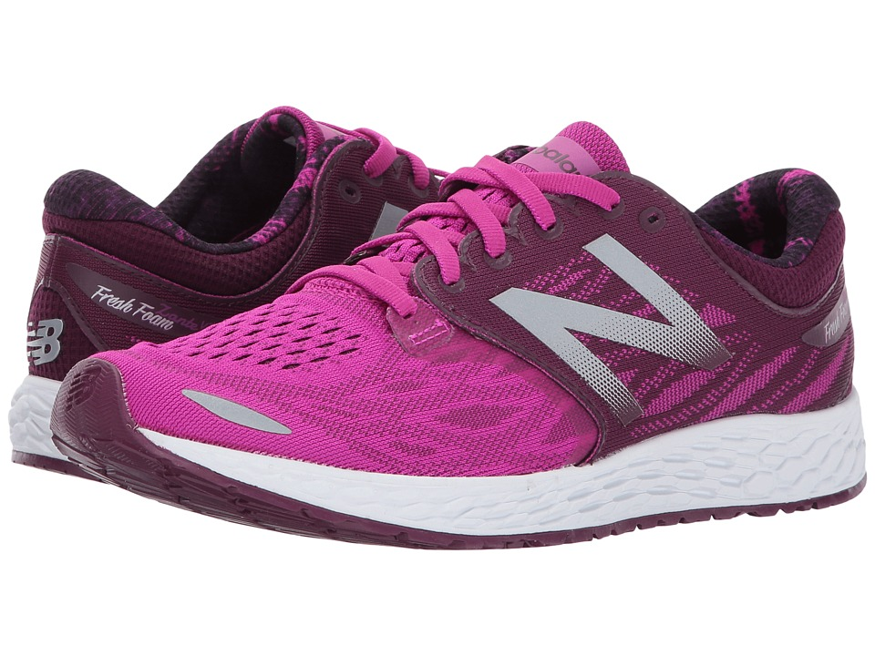 New Balance Fresh Foam Zante V3 (Piosonberry/Dark Mulberry/White) Women