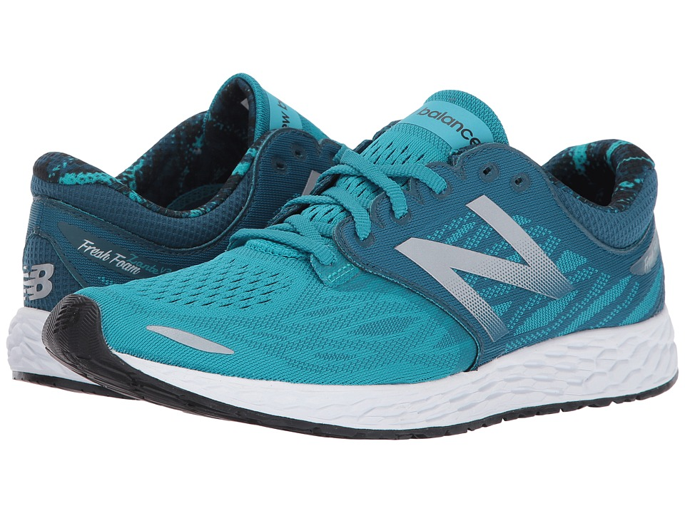 New Balance Fresh Foam Zante V3 (Pisces/Moroccan Blue/White) Women
