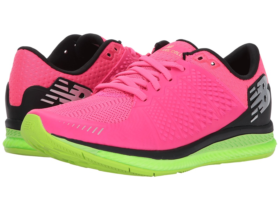 New Balance Fuelcell v1 (Alpha Pink/Lime Glo/Black) Women...