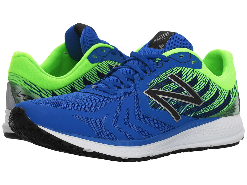 New Balance - Vazee Pace (Vivid Cobalt/Energy Lime/Black) Mens Running Shoes