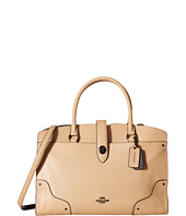 COACH - Color Block Leather Mercer Satchel
