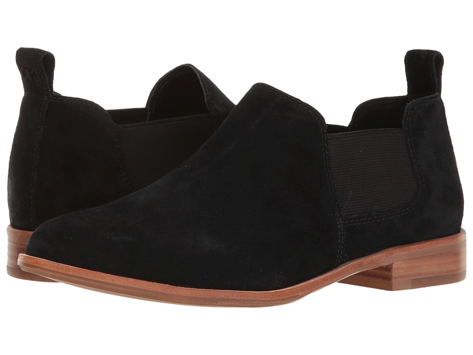 G.H. Bass & Co. - Brooke (Black Suede) Women's Shoes