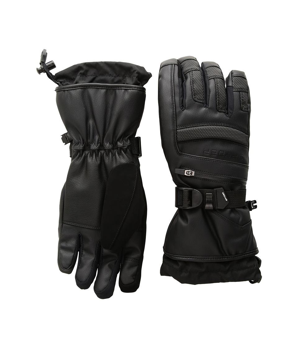 Spyder Alpine Ski Gloves (Black/Black) Ski Gloves