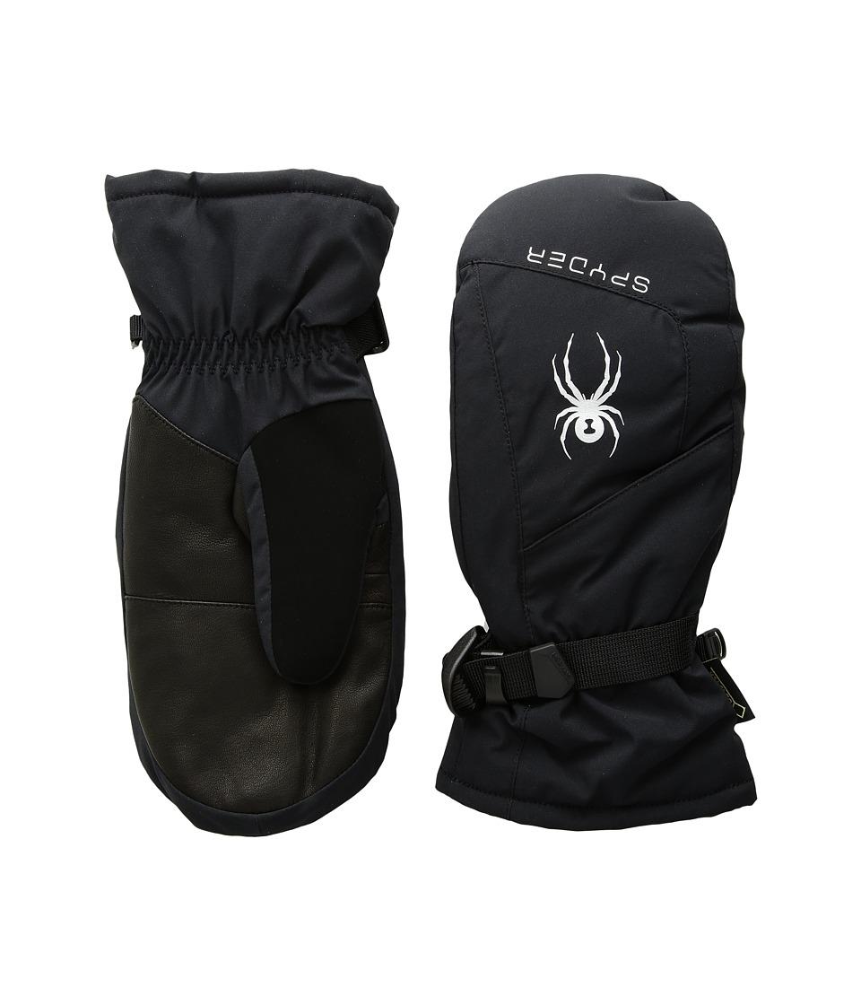 Spyder Synthesis Gore-Tex(r) Ski Mitten (Black/Silver) Ski Gloves