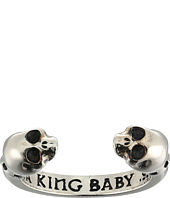 King Baby Studio - Open Ring w/ Skulls