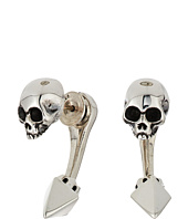 King Baby Studio - Skull Tunnel Earrings w/ Pyramid Back