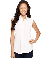 U.S. POLO ASSN. - Sleeveless Pullover Polo Blouse