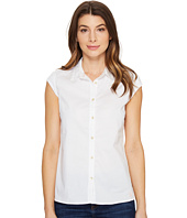 U.S. POLO ASSN. - Cap Sleeve Poplin Blouse
