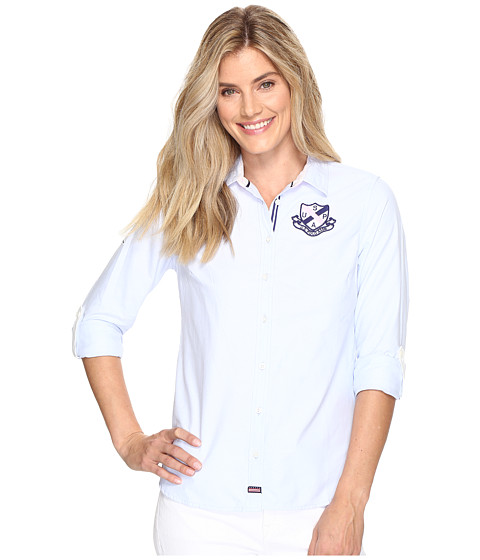 U.S. POLO ASSN. Embellished Oxford Shirt