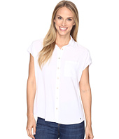 U.S. POLO ASSN. - Short Dolman Sleeve Challis Blouse
