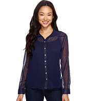 U.S. POLO ASSN. - Swiss Dot Cleo Blouse